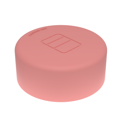 CORAL RED - Large Sealed Lid