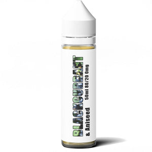 B2B - Blackcurrant & Aniseed 50ml Shortfil E-Liquid