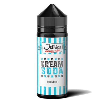Jeffries Vintage Vape – Cream Soda 100ml Shortfill Eliquid