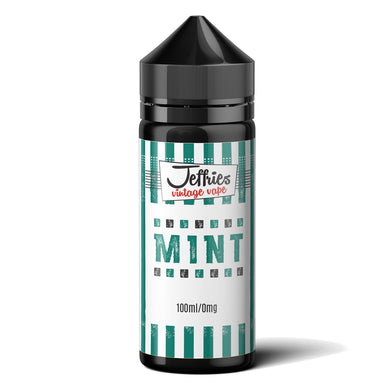 Jeffries Vintage Vape – Mint 100ml Shortfill Eliquid