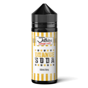 Jeffries Vintage Vape – Orange Soda 100ml Shortfill Eliquid