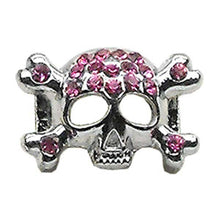 "3-8"" Skull Slider Charm Pink 3-8"" (10mm)-Mirage Pet Products-DirtyFurClothing"