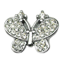 "3-8"" Slider Butterfly Charm Clear 3-8""-Mirage Pet Products-DirtyFurClothing"