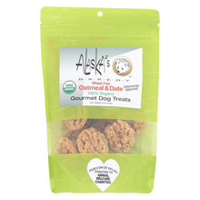 Alaska's Bakery - Dog Treats - Oatmeal And Date - Case Of 6 - 6 Oz.