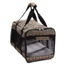 Airline Approved 'flightmax' Collapsible Pet Carrier- Jacquard Print-Pet Life-DirtyFurClothing