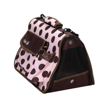 Airline Approved Folding Zippered Casual Pet Carrier- Plaid-Pet Life-DirtyFurClothing