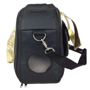 Airline Approved Mystique Fashion Pet Carrier - Black-Pet Life-DirtyFurClothing