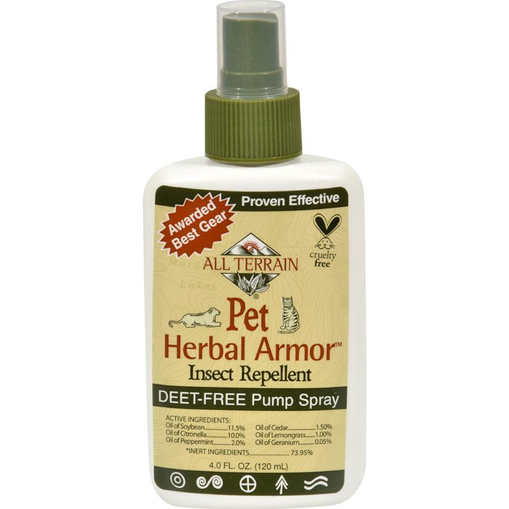 All Terrain - Pet Herbal Armor Insect Repellent ( 2 - 4 Fz)-All Terrain-DirtyFurClothing