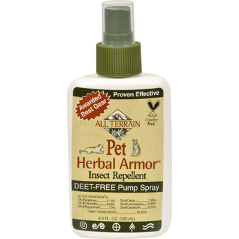 All Terrain Pet Herbal Armor Insect Repellent - 4 Fl Oz-All Terrain-DirtyFurClothing