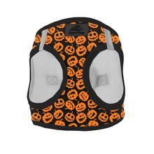American River Choke Free Dog Harness Holiday Line - Halloween Jack-O-Lanterns-DirtyFurClothing-DirtyFurClothing