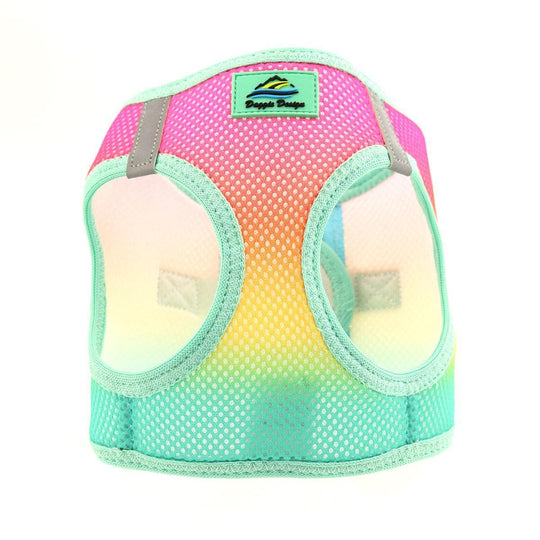 American River Choke Free Dog Harness Ombre Collection - Beach Party Ombre-DirtyFurClothing-DirtyFurClothing