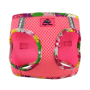 American River Choke Free Harness Hawaiian Trim - Candy Pink-DirtyFurClothing-DirtyFurClothing