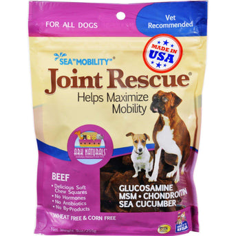 Ark Naturals Sea Mobility Joint Rescue Beef Jerky - 9 Oz (pack Of 3)-Ark Naturals-DirtyFurClothing