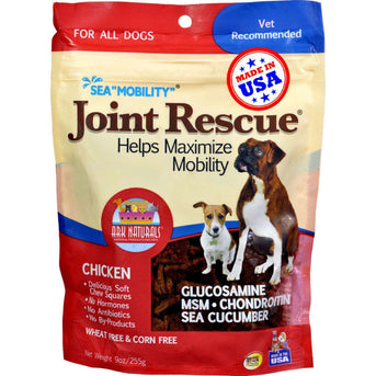 Ark Naturals Sea Mobility Joint Rescue Chicken Jerky - 9 Oz (pack Of 3)-Ark Naturals-DirtyFurClothing