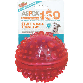 Aspca Stuff-a-ball Treat Dog Toy-pink-Bow Wow Pet-DirtyFurClothing