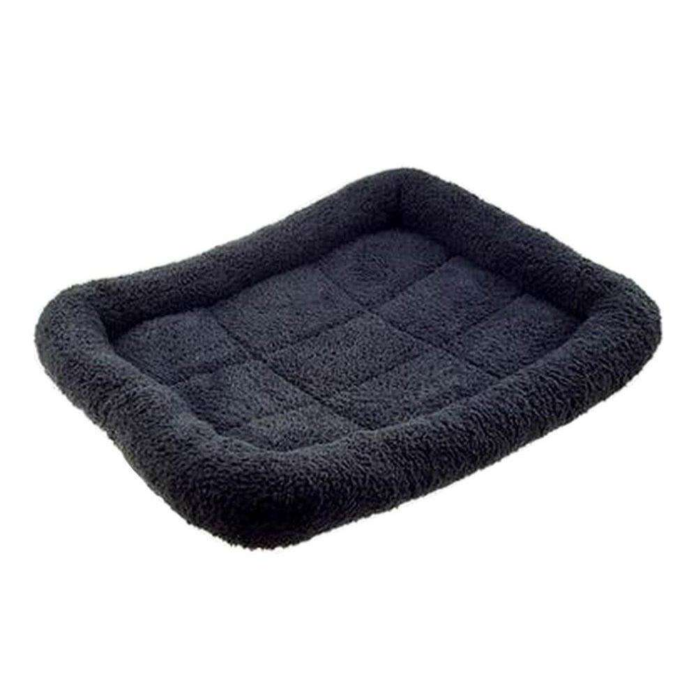 [black] Soft Pet Beds Pet Mat Pet Crate Pads Cozy Beds For Dogs-Blancho-DirtyFurClothing