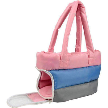Bubble-Poly Tri-Colored Insulated Pet Carrier-Pet Life-DirtyFurClothing