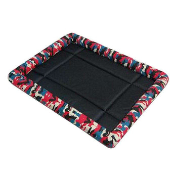 [Camo Red] Soft Pet Beds Pet Mat Pet Crate Pads Cozy Beds For Dogs-Blancho-DirtyFurClothing