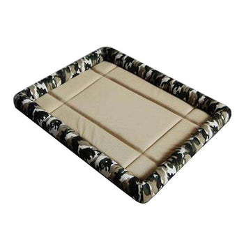 [camo] Soft Pet Beds Pet Mat Pet Crate Pads Cozy Beds For Dogs-Blancho-DirtyFurClothing