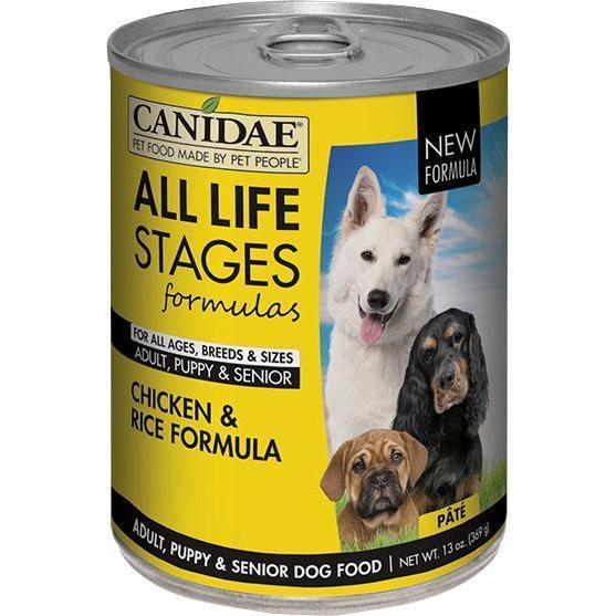 Canidae - All Life Stages - Canidae All Life Stages Chicken & Rice Formula Can Dog Food (Case Of 12 )-Canidae - All Life Stages-DirtyFurClothing
