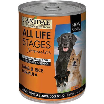 Canidae - All Life Stages - Canidae All Life Stages Lamb & Rice Formula Can Dog Food (Case Of 12 )-Canidae - All Life Stages-DirtyFurClothing