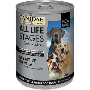 Canidae - All Life Stages - Canidae All Life Stages Less Active Can Dog Food (Case Of 12 )-Canidae - All Life Stages-DirtyFurClothing