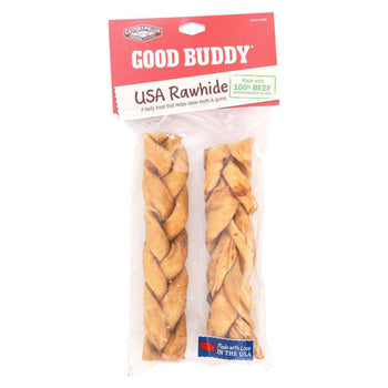 Castor And Pollux Good Buddy Braided Sticks Dog Chews - Chicken Braids - Case Of 9-Castor & Pollux-DirtyFurClothing