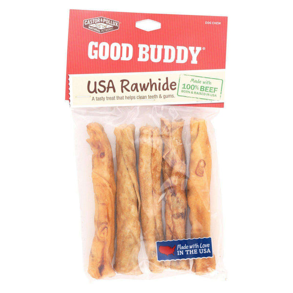 Castor And Pollux Good Buddy Sticks Rawhide Dog Chews - Case Of 12-Castor & Pollux-DirtyFurClothing