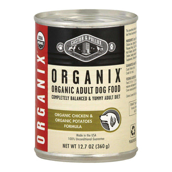 Castor And Pollux Organic Canned Dog Food - Chicken And Potatoes - Case Of 12 - 12.7 Oz.-Castor & Pollux-DirtyFurClothing