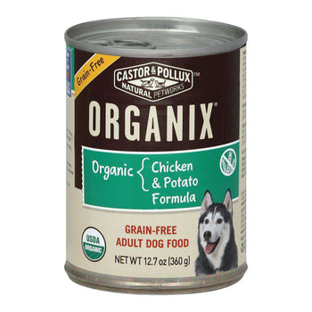 Castor And Pollux Organic Grain-Free Canned Dog Food - Chicken And Potato - Case Of 12 - 12.7 Oz.-Castor & Pollux-DirtyFurClothing
