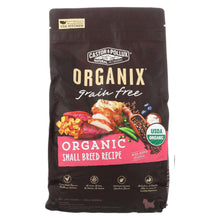 Castor And Pollux Organix - Organic Small Breed Dog Food - Case Of 5 - 4 Lb.-Castor and Pollux-DirtyFurClothing