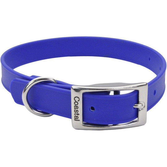 "Coastal 14"" Waterproof Dog Collar-Blue-Coastal Pet Products-DirtyFurClothing"