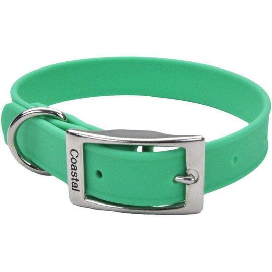 "Coastal 14"" Waterproof Dog Collar-Green-Coastal Pet Products-DirtyFurClothing"