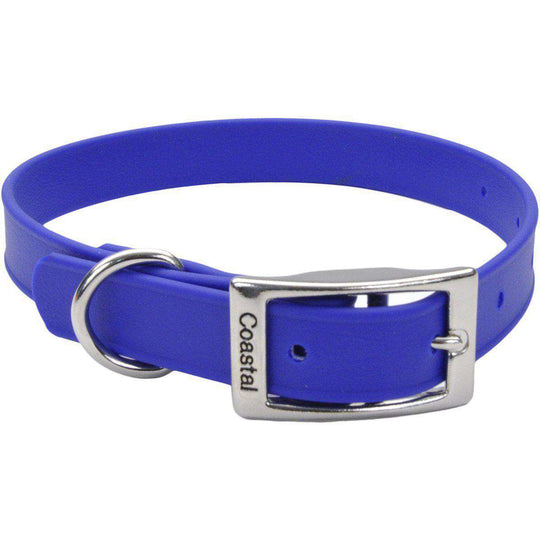 "Coastal 17"" Waterproof Dog Collar-Blue-Coastal Pet Products-DirtyFurClothing"