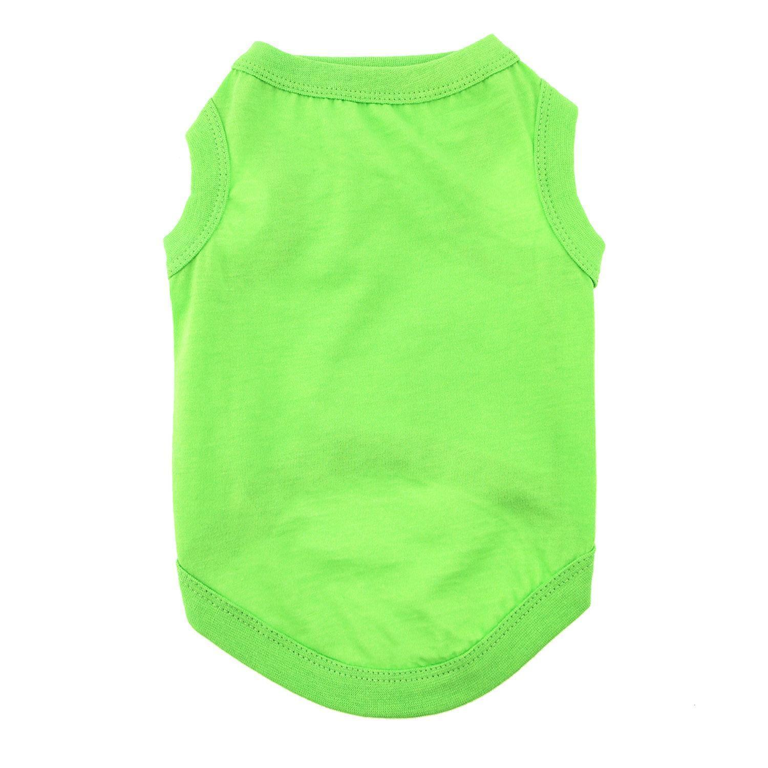 Cotton Dog Tank - Green Flash-DirtyFurClothing-DirtyFurClothing