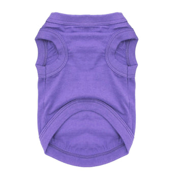 Cotton Dog Tank - Ultra Violet-DirtyFurClothing-DirtyFurClothing