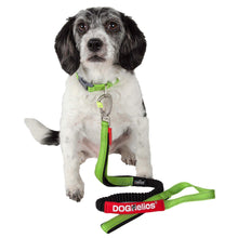 Dog Helios Neo-Indestructible Easy-Tension Sporty Embroidered Thick Durable Pet Dog Leash And Collar - Green-Dog Helios-DirtyFurClothing