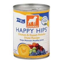 Dogs Well Happy Hips Chicken And Sweet Potato Stew Canned Dog Food - Case Of 12 - 13 Oz.-Dogswell-DirtyFurClothing