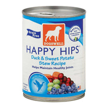 Dogs Well Happy Hips Duck And Sweet Potato Stew Canned Dog Food - Case Of 12 - 13 Oz.-Dogswell-DirtyFurClothing