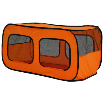 Dual Mesh Window Wired Lightweight Collapsible Outdoor Multi-pet Tent-Pet Life-DirtyFurClothing