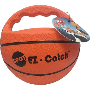 Ethical Dog - Ez Catch Durable Rubber Basketball Dog Ball Toy Orange 6In-Ethical Dog-DirtyFurClothing