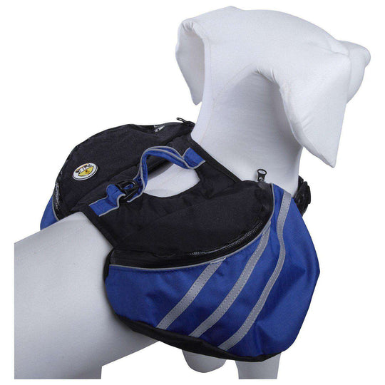 Everest Pet Backpack- Blue-Pet Life-DirtyFurClothing