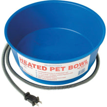Farm Innovators Inc - Pet - Heated Round Pet Bowl Blue-Farm Innovators Inc - Pet-DirtyFurClothing