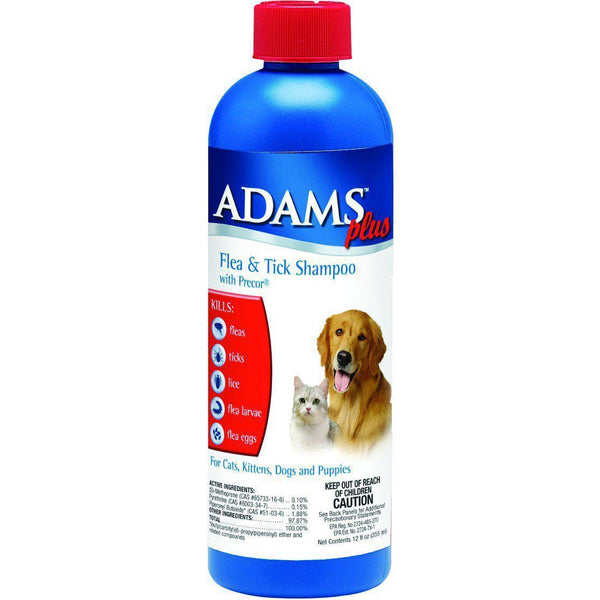 Farnam Pet - Adams Plus Flea & Tick Shampoo With Igr-Farnam Pet-DirtyFurClothing