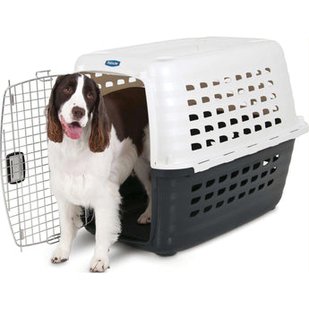Fashion Compass Kennel Crate Training Dog Carrier-Petmate-DirtyFurClothing