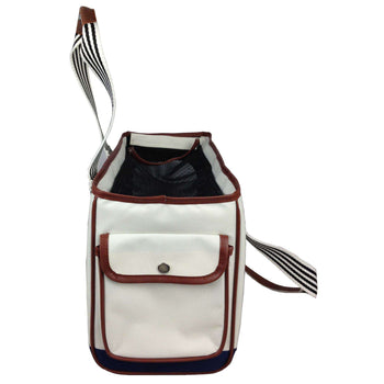 Fashion 'Yacht Polo' Pet Carrier - As Displayed-Pet Life-DirtyFurClothing
