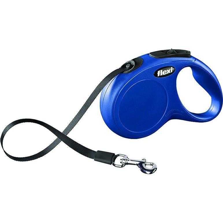 Flexi North America Llc - Clasic Medium Tape Retractable Leash-Flexi North America Llc-DirtyFurClothing