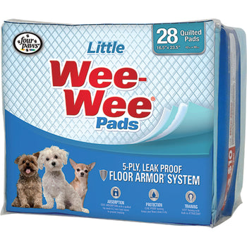 Four Paws - Container - Wee Wee Pads For Little Dogs-Four Paws - Container-DirtyFurClothing