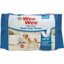 Four Paws Products Ltd - Wee-Wee Disposable Male Wraps-Four Paws Products Ltd-DirtyFurClothing