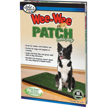Four Paws Products Ltd - Wee-Wee Patch Indoor Potty-Four Paws Products Ltd-DirtyFurClothing